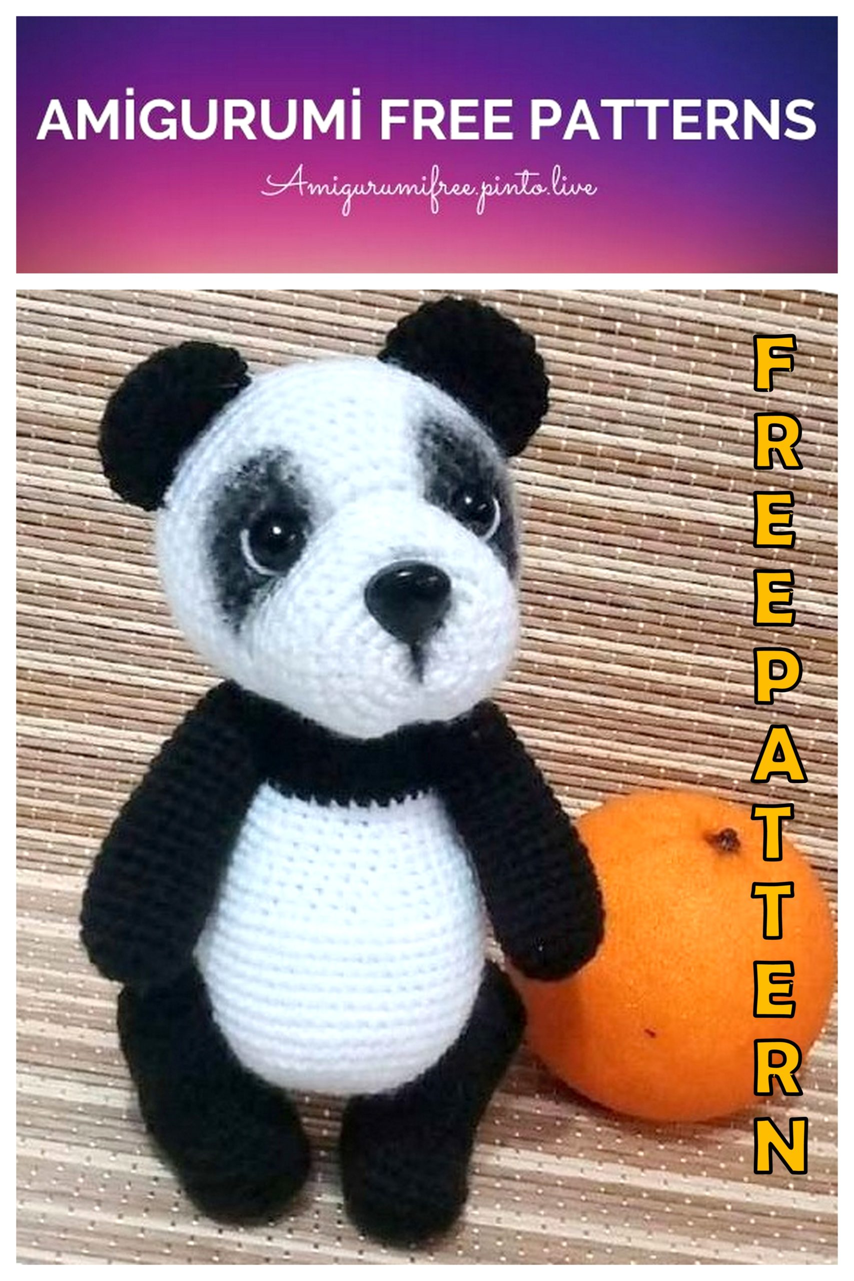 Free Pattern: Chen the Panda Bear with Furls Crochet – Storyland Amis | 2560x1707