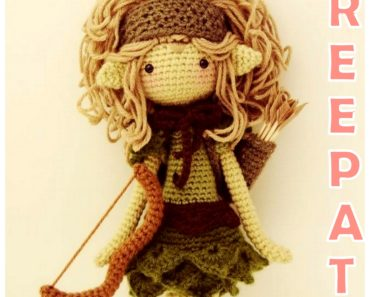 Free Pattern: How to Crochet an LOL Doll Punk Boy Inspired Doll ... | 297x370